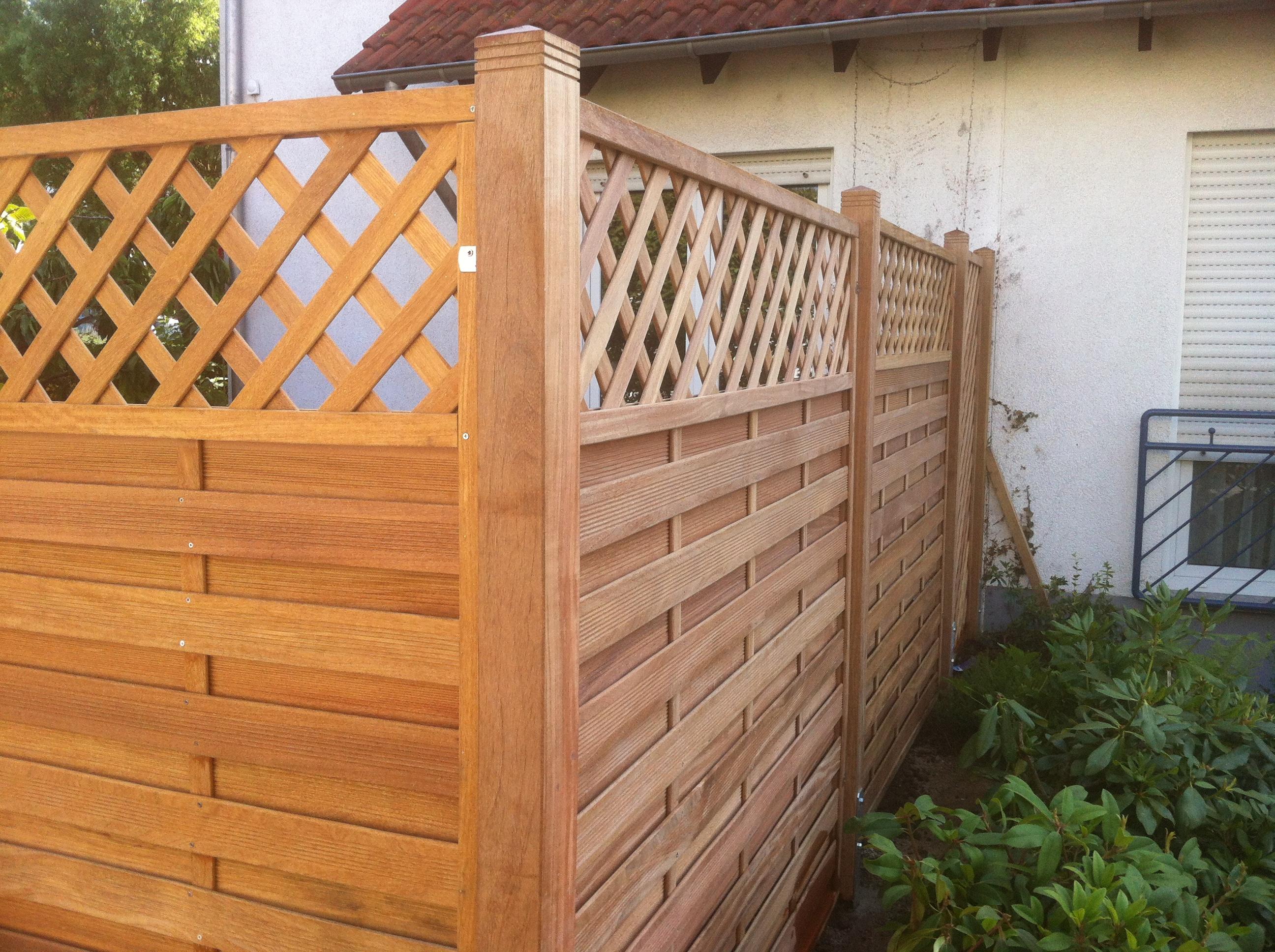 Zäune Sichtschutz – Garten und Landschaftsbau Van Ooyen